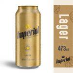 Cerveza imperial lager 500 ml